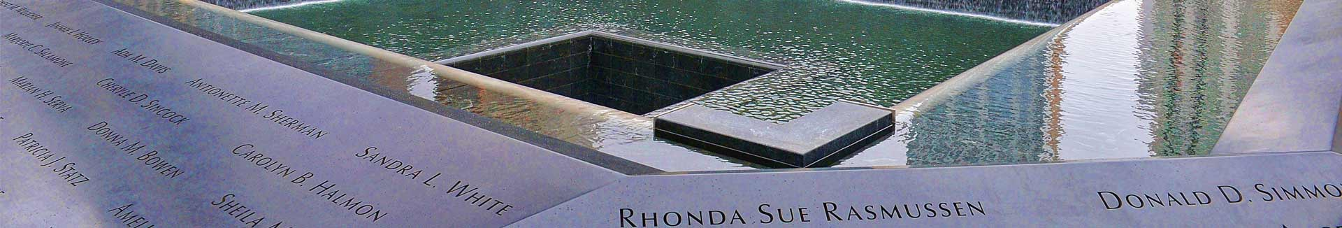 World Trade Center Memorial Fountains